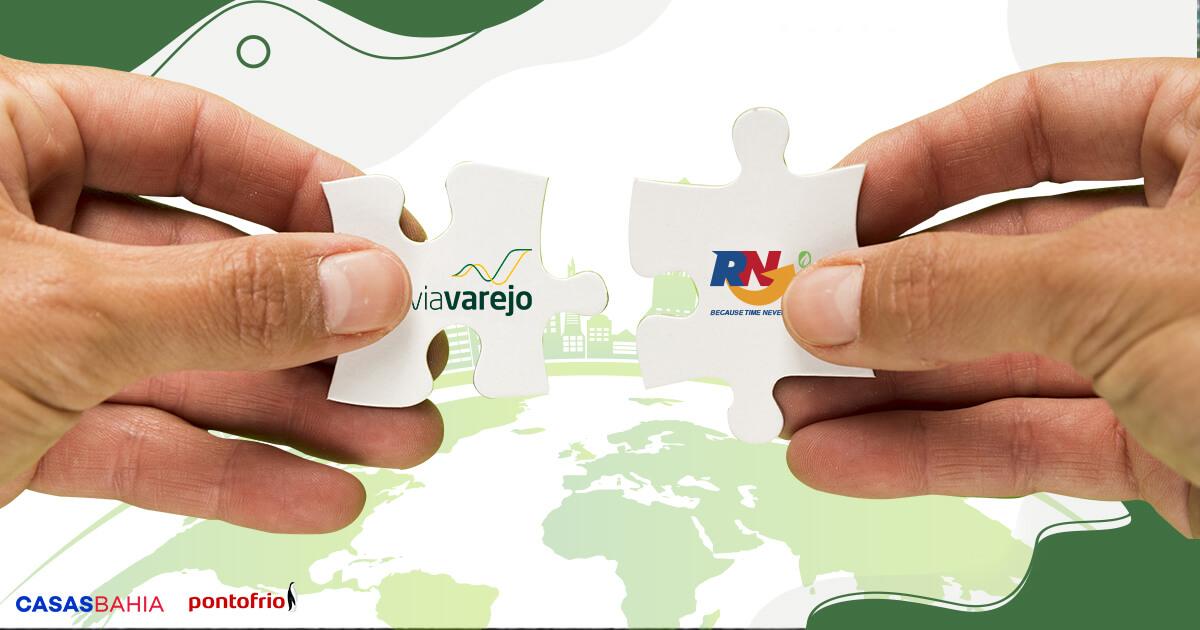 Via Varejo escolhe RN Logística para conduzir seu transporte sustentável.
