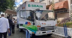 B. Braun realiza doação de insumos médicos para rede pública de São Gonçalo